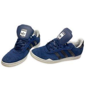 Adidas Ronan Navy Suede Like Skateboard SneakersSH